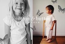 Cotton & Button Sweden / Swedish brand of children's sleepwear. 100% organic cotton.