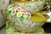 Tasty Looking Party Cakes / Delightfully delicious-looking cakes and pastries / by WPB Event