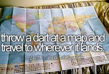 Bucket List / Of course I want to go to alllll of these places before I die!  / by Cindy Elizabeth