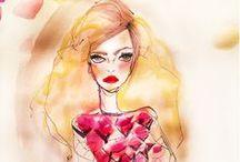 Fashion Sketches / www.SnapFashun.com #fashionsketches #cad