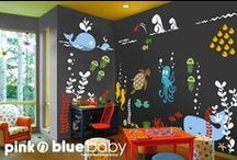 Creative Playrooms / Get creative in the space designated for your kids to run wild! Encourage them to use their imaginations and be active through fun play time activities! Does your playroom need one of these #DIY updates?