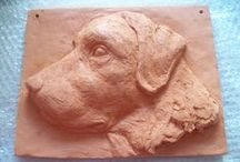 clay / relief Wim