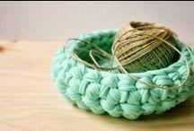 Sólo trapillo / tshirt yarn, trapilho... / by :: A n A ::