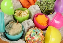 Celebrate a Healthy Easter / Sweet Easter crafts and treats to make with your kids. Even get inspiration for healthy items to place inside their Easter basket or egg hunt. It doesn't have to be all about candy, celebrate a healthy Easter with these unique ideas!