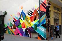 Murals / Street Art / Graffiti / by Jacqui Oakley