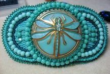 Beadwork: my own beadwork / I've decided to put some of my own beadwork up on Pinterest, I hope you all like it.