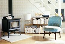 W. Warmth / Fireplaces, wood stoves, bonfires, outdoor fireplaces.... / by Jennifer Lippmann