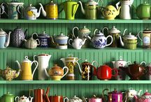 B. Blissful beverages / Coffee tea teapots bars beverages mugs warm and cold deliciousness / by Jennifer Lippmann