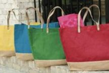 #PHL Totes and Carry-Alls / Jute Totes and Canvas Carry-Alls