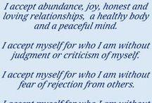 Affirmations / by Kathie Warren