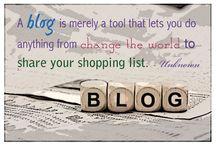 Blogging / The mind boggling world of blogging.