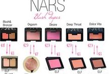 Dupes / Budget products dupes for high end products.