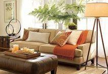 Colors palette for living room