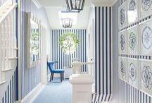 foyer + hallway