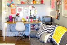 Dorm and Apartment Decor / Inspiration for decorating and personalizing your small spaces. Please note that not every idea here is allowed in Carleton residence halls.