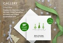 Personalised Christmas Cards & Gift Emporium from HoneyTree / Make Christmas 'Personal' with premium quality illustrated & personalised stationery, labels, tags, prints and candles. Select the ultimate set of Personalised Christmas cards , correspondence cards, premium writing paper, thank you cards - that enable the recipient to #CreateABuzz through correspondence that is not only personalised but personal;  With over 700 exclusive illustrations & a pedigree for year round gifting we like to think HoneyTree has it wrapped for great gifting this Christmas