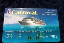 Cruise Cards / On every cruise, we get credit card-like cards that open our cabin door, serve as a security check for getting on and off the ship and are used to make onboard purchases.  We saved every one and each has a story.  Watch as we add them on, one at a time, in no real order over the coming weeks and months.