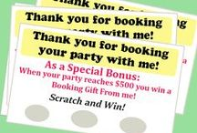 Direct Sales / Direct Sales ideas. Hostess Rewards. Customer Incentives. Create your own scratch off promotions to use at your next Tupperware party or 31 Gifts party. Who doesn't love to scratch and win?