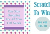 Printable scratch off games / Print your own scratch off games. Print on cardstock, apply scratch off stickers and cut your cards. Now they're ready to give to your guests.
