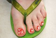 Pretty Toes / Summer is here and its time to get your flip flops out....Paint those toes for an instant wow factor.
