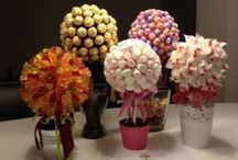 Sweetie trees. / So clever, going to have a go at my own this year.