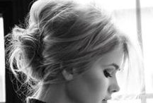 GOING UP / From Simple Top Knots To Intricate Plaits Be Inspired By these Up-Do's