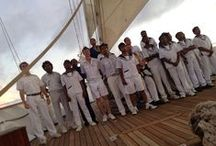 Royal Clipper Crew / The marvelous crew members of Royal Clipper