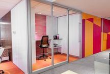 BEYOND WALLS / Movable walls in framed/frameless glass and solid wall options / by Allsteel