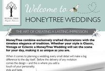 Welcome to HoneyTree Weddings / Welcome to HoneyTree Wedding Boutique - Premium Bespoke, Illustrated & Personalised Stationery to #CreateABuzz. Keep creating - Lizbeth & the HoneyTree team
