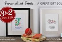 Illustrated & Personalised Prints from HoneyTree / Welcome to our gallery of Illustrated and Personalised Prints for thoughtful, unique & creative gifting; ideal for #quotes, family sayings, inspirational and religious text.  A great way to #CreateABuzz