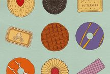 Biscuit classics. / Celebrating the designs of classic British biscuits.