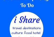 Things to do / Interesting things to do at various destinations.