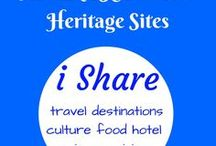 UNESCO World Heritage Sites / UNESCO World Heritage Sites around the world.