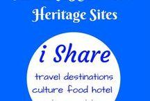 UNESCO World Heritage Sites / UNESCO World Heritage Sites around the world.