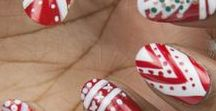 CHRISTMAS NAILS / Your Christmas nail art inspiration for the perfect manicure that is magical, merry and bright...
