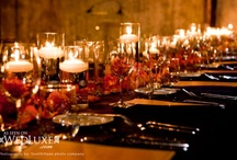 Stunning Weddings: Candles / A collection of great way to light weddings/event space.