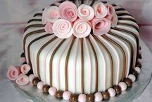 AHmazing CAKES! / Cakes are just great big, giant CUPCAKES. I LOVE frosting. I LOVE cupcakes. So YES, I LOVE cakes...