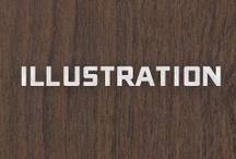 Illustration / Ink, lead, color, erase / by Darren Cools