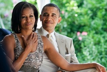 Barack and Michelle Obama / Our lovely President and First Lady. My favorite couple!   / by Linci Beckford