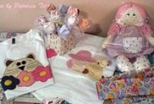 Ateliê Patricia Tito / Mimos para o seu bebê, feitos com muito carinho. Todas as peças são personalizadas com patchaplique. http://ateliepatriciatito.elo7.com.br