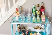 Bar Cart Entertaining / by Barbie (The Closet Hippo)