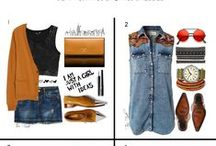 Fashion / SETS by Teri / Do you POLYVORE? Oh my. It's addicting. I LOVE creating sets of different fashions on my Polyvore account.