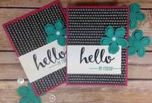 Stampin' Up! Sale-a-bration Creations