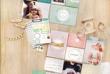 Stampin' Up! Project Life / Projects made with the new Project Life product line!