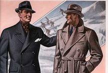 Men's Fashion illustration / Illustrations of men's fashion throughout time.