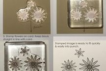 Stampin' Up! Punch Art / Crafts with punches