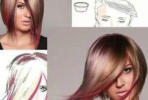 Color techniques / Hair color techniques