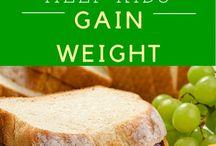 Athletic diet / Simon's weight gain plan
