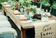 Table Chic / elegant and chic table decorating design