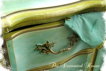 Furniture ~ Painted Furniture & Techniques / by The Decorated House ♛ Donna